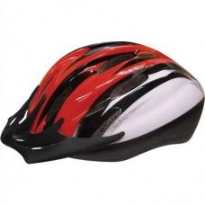 Child's Sporty Bike Safety Helmet Size Medium - (Red/Black) - B00OG8M0RS