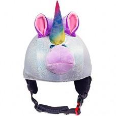 CrazeeHeads Sparky The Unicorn Helmet Cover Kids - B015YGC5G6
