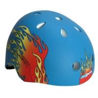 Kidzamo Skate Flame Helmet with Knee and Elbow Pads  Small - B005DFRGGS