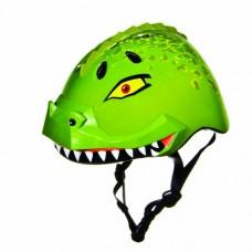 Raskullz Dinosaur Helmet (Green  Ages 5+) - B004WT06C2