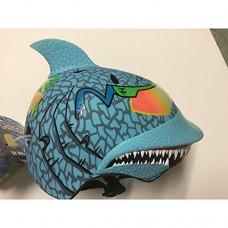 Shark Maxx Blu Children's Helmet with Rubber Top Fin - B06XKFQMRK