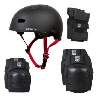 Shaun White Supply 4-in-1 Combo Helmet Pad  Small/Medium  Black - B008RK9D0I
