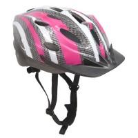 Sport Direct SH515 55-58cm Junior/ Ladies Helmet - Pink/ Silver - B002XUJOTI