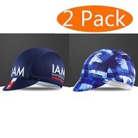 2 PCS Cycling Caps  Helmet Liner Skull Caps Quickly Dry Riding Hats Anti Sweat Sun Proof Baseball Hat for Men and Women - B07FR8T8RL