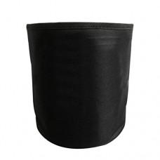 Gracefulvara Black Cycling Front Bag Basket Folding Outdoor Pack - B07G86XP9J