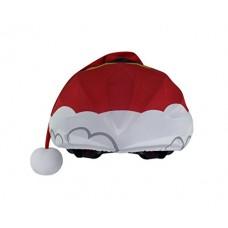 Santa - Christmas Helmet Cover for Snowboard Cycling - B077SPWZ1Y