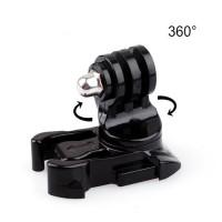 Simply Silver - New 360° Rotating Swivel Helmet Surface Mount for GoPro Hero 4 3+ 3 2 1 Black - B07C1Y3N57