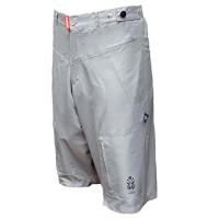 Astek Men Baggy Loose Fit Padded City Bike Grey Shorts - Clearance - B07BV91P4G