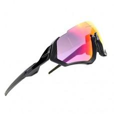 ZoliTime 2018 new Cycling Sunglasses 3LS kit Revo+Polarized +Transparent - B07F2PJ545