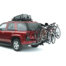 "Class III Bike Rack - Universal - black Bike Carrier  4 Bike  w/Tilt Function  2"" Sq. Receiver Mount. Fits Class III and Class IV hitches. - B001LVUDEK"