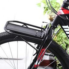 FidgetFidget Rack Bicycle Luggage Front Rack Black - B07FY75TLZ