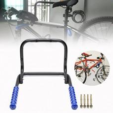 INNI Bicycle Wall Mounted Folding Steel Bike Storage Rack Hook 2 Bikes Shed Garage - B07G2CRLC6