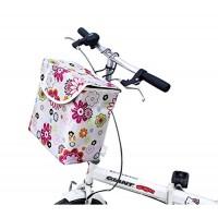 Dreams Mall(TM)Bicycle Pannier Basket w/Hooks(10.6x9.4x6.1inch) - B01LRTGQFA