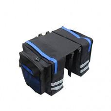 Meanhoo Bicycle Handlebar Rear Seat Trunk Bag Handbag Pannier bicycle bag accessories bike panniers Outdoor Activity - Blue - B01HI5DHZ4