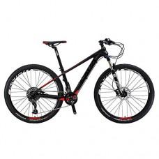 "27.5"" Carbon Frame Mountain Bike SRAM GX 22 Speed ROCKSHOX fork - B079ZLCGWX"