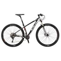"Carbon T700 29"" Mountain Bike Shimano Hardtail Bicycle of 22 Speed (black white  17"") - B07F9HC2T3"