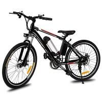 Dozenla 25 inch Wheel Aluminum Alloy Frame Mountain Bike Cycling Bicycle (US Stock) - B07BQNJ3RQ