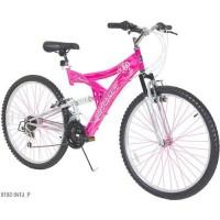 Dynacraft Women's Air Blast 26 in 21 Speed Dual Suspension Bike - B07G8KC4B1