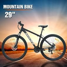 """MarCoolTrIp MZ 29"""" Mountain Bike 21 Speed Shimano Bicycle Men's Women's Outdoor Riding - B07FTGGBLC"""