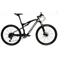 "Stradalli Two 7 Blue Edition. Full Carbon Fiber Dual Suspension Cross Country CX Mountain Bike. 27.5"" MTB 650b Shimano XT M8000 1x11. Suntour XCM 30 Fork. WTB SX19 650b Wheelset. - B01N1UFV4L"