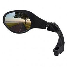 BIKEIN Stainless Steel Lens Handlebar Bike Mirror  Safe Rearview Mirror  Bicycle Mirror  Cycle Mirror for Mountain Bike - B07F2S3LTN