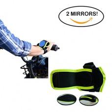 VectorVelo Bike Accessories and Bike Mirror by BMX  Mountain Bike  Kid Bike  Bicycle Mirror  Wrist Support  Rear View Mirror  Wrist Mirror Bicycle Accessory for Bike Helmets  Bike Gloves  Handlebars - B077ZQ3Z5Y