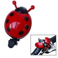 Cute Ladybug Shape Red Beetle Mode Bicycle Bell Bike Accessory - B00LTSIXBU
