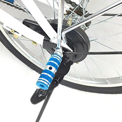 MTB Bike Foot Pegs BMX Footrest Lever Cylinder Rocket Launcher Bike Accessorie