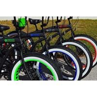 "aviastore Fat Tire Beach Cruiser Tires - Whitewall 26x4"" NEW 2 tires AND TUBES- SIKK BIKE - B07DQPH5Y6"