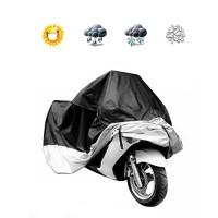Docooler Motorcycle Bike Moped Scooter Cover Waterproof Rain UV Dust Prevention Dustproof Covering (L) - B01CDUCVVU