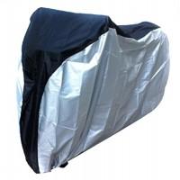 Natuworld S/M/L/XL Waterproof 180T Polyester Taffeta Bike Bicycle E-Bike Cover Silver & Black - B00V641U3K