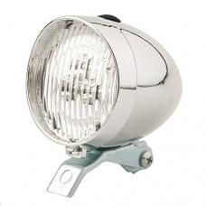 CrazyBikeCyclingDecor 3 LED Bicycle Headlight Bike Front Light Retro Headlight Vintage Flashlight Lamp - B01MQVC9Z4