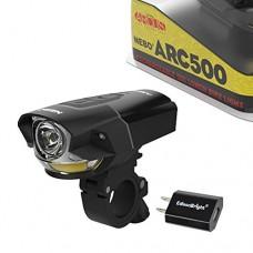 EdisonBright Nebo ARC500 USB rechargeable 500 lumen LED bike light 6641 with USB charger bundle - B077PHBBMY