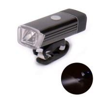 FidgetFidget Headlight Bike Bicycle Light Black USB Rechargeable LED 180LM - B07GLSMZQY