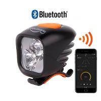 Magicshine NEW 2018 MJ 902B Bluetooth Bicycle Headlight  2xCREE LED 1600 lumens max actual output  USB rechargeable 5.2 Ah high capacity battery pack  customizable mountain biking road cycling. - B074TDS4KJ