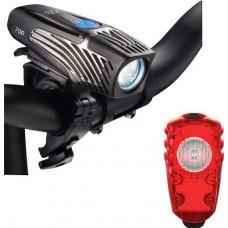 NiteRider Lumina 700 and Solas Combo USB Rechargeable Bike Lights - B00EPJB6XC