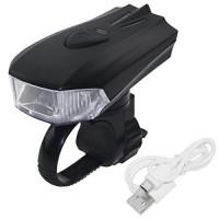 PAGAO LED USB Rechargeable Bike Light  Super Bright 400 Lumens Bicycle Headlight  Intelligent Sensor Motion Front Light  Cycling Flashlight Energy-saving LED Bicycle Light - B075JD4M1R