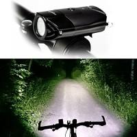 Super Bright L2 (T6 Upgrades) Bike Light USB Rechargeable Waterproof Bicycle Headlight - B01K6PCPN8