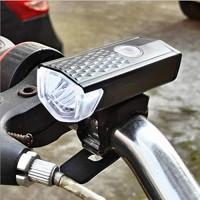 Daeou Bicycle Lights USB Charging Mountain Bike Waterproof Front Light Night Ride Highlight Light - B07GPVP57D