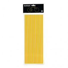 RydeSafe Reflective Decals 3/16 Pinstripes Kit Jumbo - B01N0BK7PM