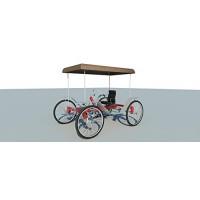 4 Wheel Bike Plans DIY Pedal Car Quad Cycle Rickshaw Pedicab Build Your Own - B07F1DSZZ5