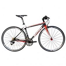 BEIOU 2016 Carbon Comfortable Bicycles 700C Road Bike LTWOO 210 Speed SRAM Brake Complete 18.3 lb Hybrid Bike Toray T800 Fiber CB0012B - B015PCUIFO