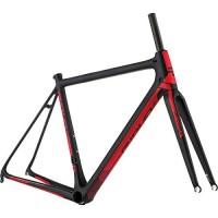 Ridley Helium SLX Road Bike Frameset - 2017 Black/Red/White  L - B07GC6RM5V