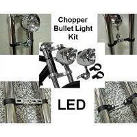 Bullet Light Kit for Chopper Bicycle Fork - B015YG4J3S