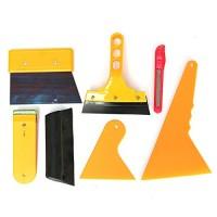 CoCocina Car Window Tint 7 PCS Tools Kit Fitting For Film Tinting Scraper Application - B07FT5H56K