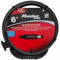 "Master Lock 8220D 6' X 3/8"" Master Lock® Set Your Own Password Cable Lock - B00G70JGCK"