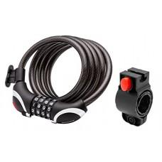Schwinn Resettable Combo Lock with Light  5' x 10mm  Black - B01C7FI0RA