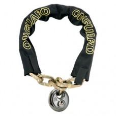 On-Guard Mastiff-8022D Keyed Chain Lock - Black  8.0 x 0.8 cm - B00AW7PEAC