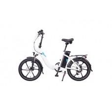 Magnum Bikes Premium 48V 13Ah Step Thru Full Power Folding Electric Bike  500W 8FUN Motor + FREE GIFT 16000 mAH Solar Power Bank for your cell phone+Free Foldylock Bike Lock - B01M22NTR4