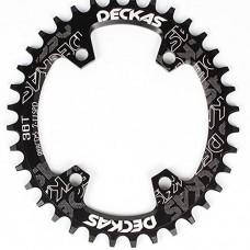DECKAS Round Oval Aluminium CNC 96BCD Mtb Bike Crankset Wide Narrow Chainring For SLX M7000/XT M8000/M9000 Bike Crankset - B07DPLZQF5